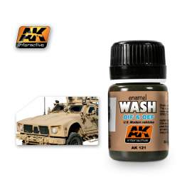 Oif & Oef Us Vehicles Wash