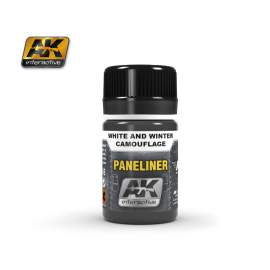 Paneliner for White and Winter Camouflage