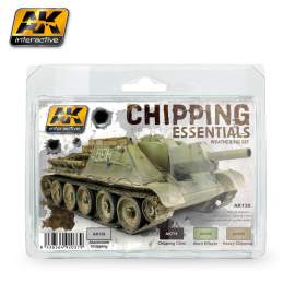 AK-Interactive Chipping essentials weathering set