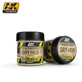 Splatter effects - Dry mud (100 ml)