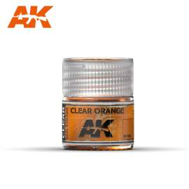 AK Real Color - Clear Orange
