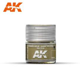 AK Real Color - Dunkelgelb-Dark Yellow RAL 7028