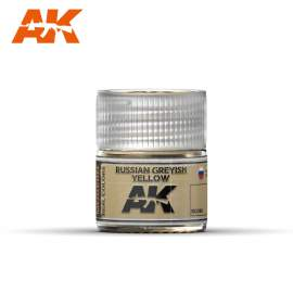 AK Real Color - Russian Greyish Yellow
