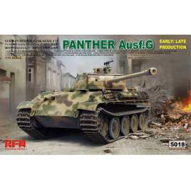 Ryefield model 1:35 Panther Ausf.G Early/Late productions