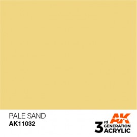 Acrylics 3rd generation Pale Sand 17ml