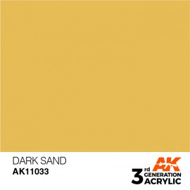 Acrylics 3rd generation Dark Sand 17ml