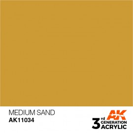 Acrylics 3rd generation Medium Sand 17ml