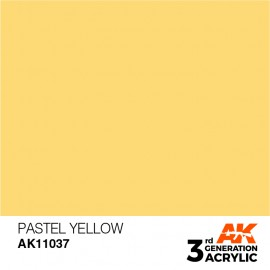 Acrylics 3rd generation Pastel Yellow 17ml