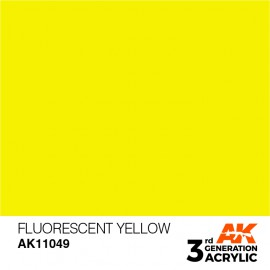 Acrylics 3rd generation Fluorescent Yellow 17ml
