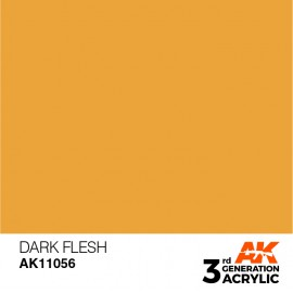 Acrylics 3rd generation Dark Flesh 17ml