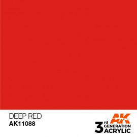 Acrylics 3rd generation Deep Red 17ml