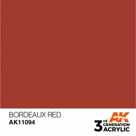 Acrylics 3rd generation Bordeaux Red 17ml