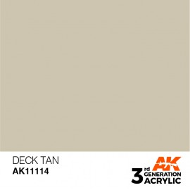 Acrylics 3rd generation Deck Tan 17ml