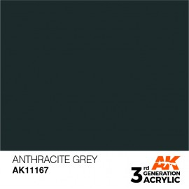 Acrylics 3rd generation Anthracite Grey 17ml