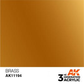 Acrylics 3rd generation Brass 17ml