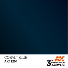 Acrylics 3rd generation Cobalt Blue 17ml