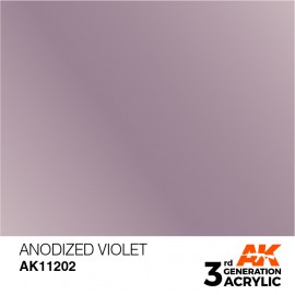 Acrylics 3rd generation Anodized Violet 17ml