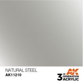 Acrylics 3rd generation Natural Steel 17ml