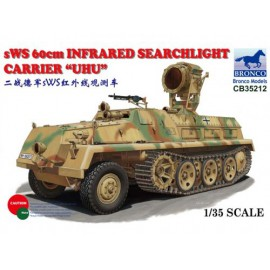 Bronco 1:35 sWS 60cm Infrared Searchlight Carrier 'UHU'