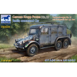 Bronco 1:35 German Krupp Protze Kfz.19 Radio command Car