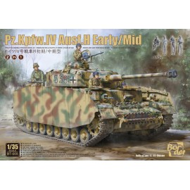 Border Model 1:35 Panzer IV H early/mid (with 4 tank crew)