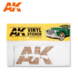 Vinyl Sticker Orange