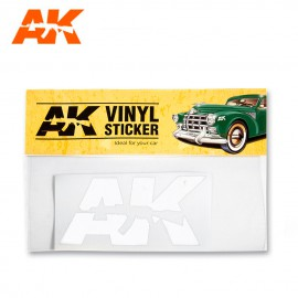 Vinyl Sticker White