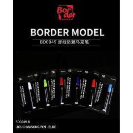 Border Model Liquid masking pen (purple)