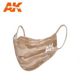 AK Interactive Face Mask Classic Camouflage 04