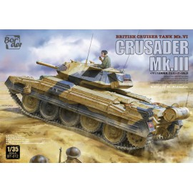 Border Model 1:35 British cruiser tank, Crusader MKIII