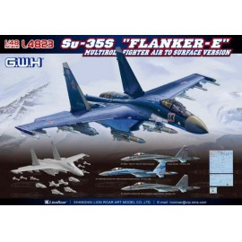 "Great Wall Hobby 1:48 Su-35S ""Flanker E"" Multirole Fighter Air to Surface Version"