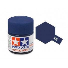 Tamiya mini acrylic X-3 Royal Blue