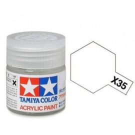 Tamiya mini acrylic X-35 Semi Gloss Clear