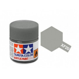 Tamiya mini acrylic XF-20 Medium Grey