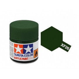 Tamiya mini acrylic XF-26 Deep Green