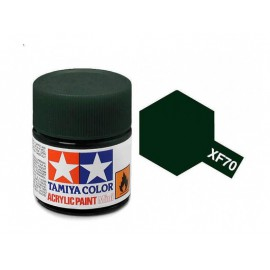 Tamiya mini acrylic XF-70 Dark Green 2 (IJN)