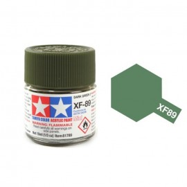 Tamiya mini acrylic XF-89 Dark Green 2