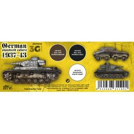 Acrylics 3rd generation German standard 37-44 combo