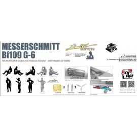 Border Model 1:35 Messerschmitt BF109G-6