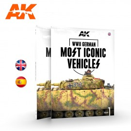 AK Interactive WWII German most iconic SS vehicles Volume 1.