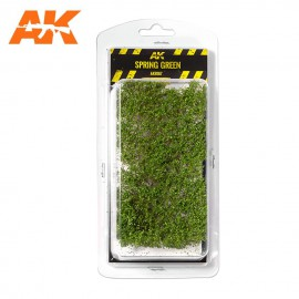 AK Interactive 1:35 Spring green shrubberies